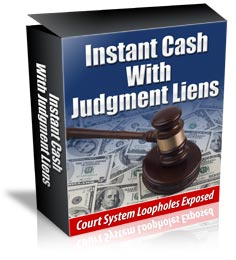 Instant Cash With Judgment Liens